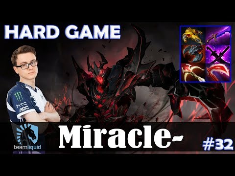 Miracle - Shadow Fiend MID | HARD GAME | Dota 2 Pro MMR Gameplay #32