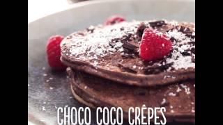 Recept voor Choco Coco Crêpes - MyFoodboost