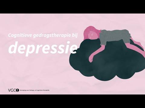 cognitieve therapie depressie