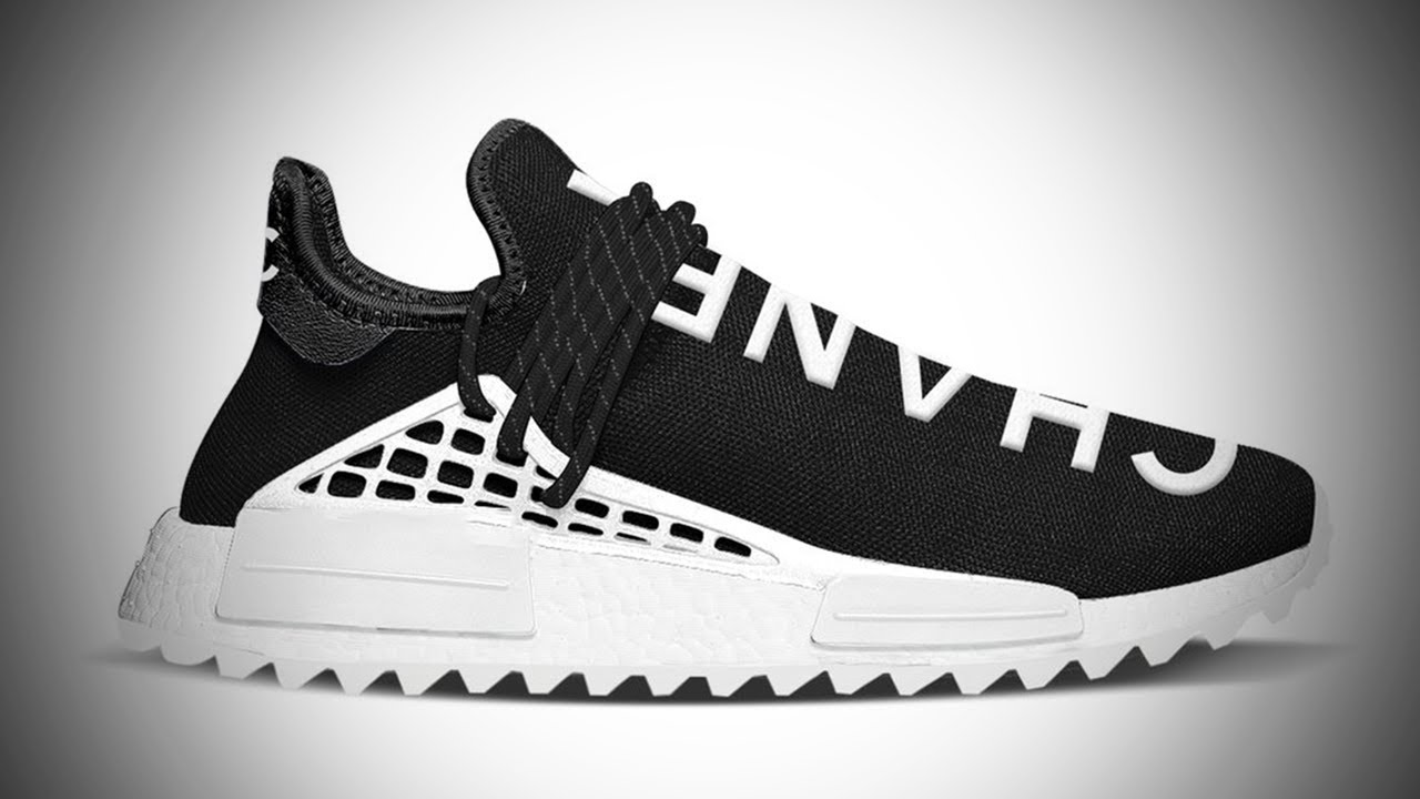 PHARRELL HUMAN RACE X CHANEL RELEASING SOON!!! ( ADIDAS NMD X PHARRELL  HUMAN RACE BLACK   WHITE ) d82859d66