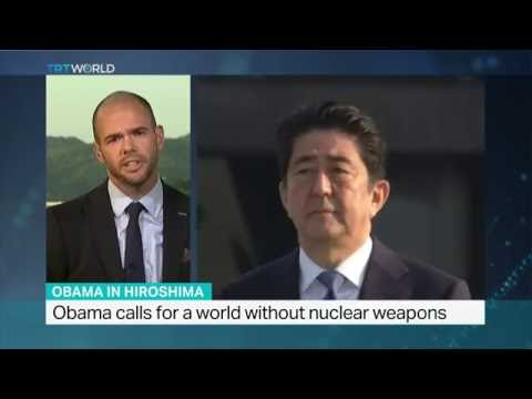 Interview with Garrett Brown from Sheffield University on Obama's Hiroshima visit