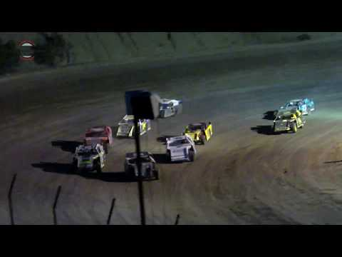 Desert Thunder Raceway IMCA Sport Mod Heat Races 9/29/18