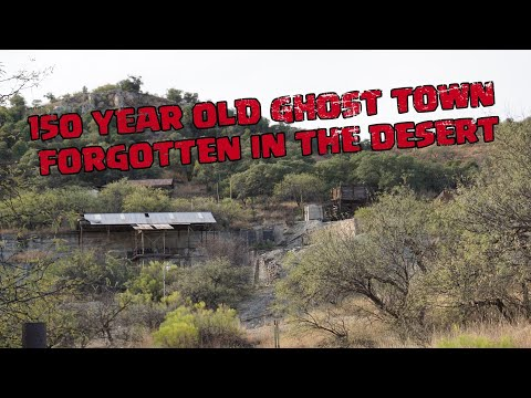 Explorer a 150 year old Abandoned Ghost Town in the Arizona Mountains