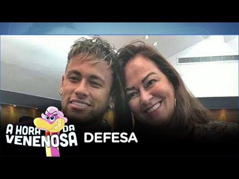 Mãe de Neymar sai em defesa do filho após críticas