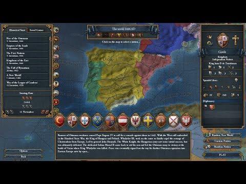 *VOD* - Europa Universalis IV (Castile/Spain) - Part 1: The Catholic Monarchy