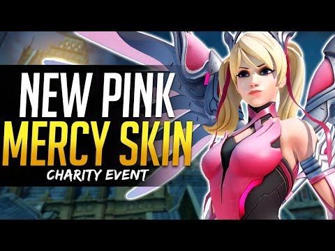 Overwatch NEW MERCY SKIN - Charity Event