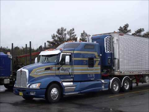Trucker on the road kenworth t660 doovi for Kenworth t660 studio sleeper interior