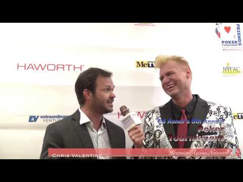 Judd Lormand with Chris Valentine at Poker with Ed
