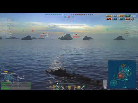 World of warships - Objective: Hold the cap