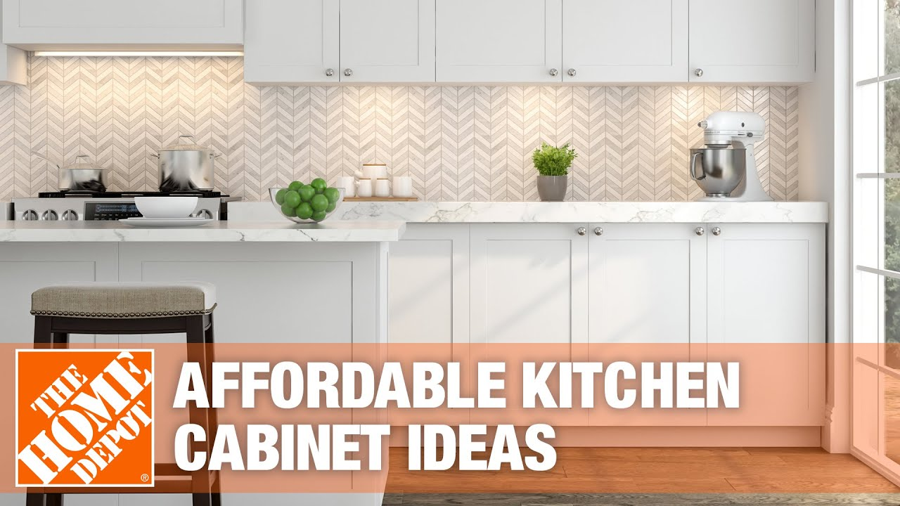 Affordable Kitchen Cabinet Ideas The Home Depot