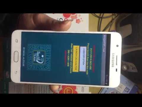 Cách Xóa Tài Khoản Google Samsung J7Prime Android 7.0.