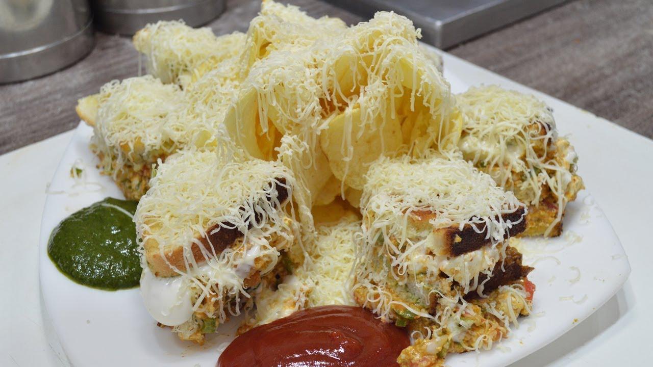 300 GRAMS CHEESE Grill Sandwich | MAHARAJA Cheese Sandwich | Maggi Pasta | Indian Street Food