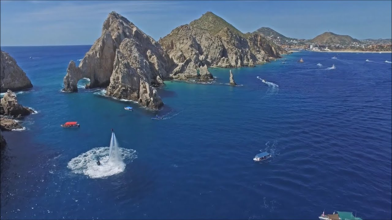 cabo flyboard from the air - cabo san lucas, los cabos, mexico