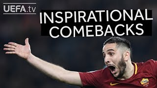 Inspiration for Roma: Great Champions League comebacks