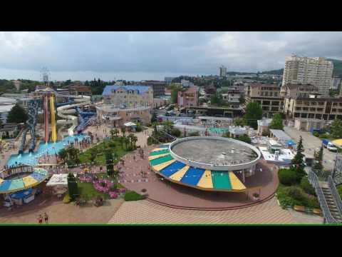 Лазаревское аквапарк «Наутилус» 4К(полный экран)