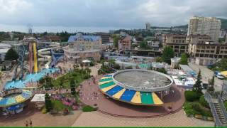 Лазаревское аквапарк «Наутилус» 4К(полный экран)(, 2016-07-21T23:22:21.000Z)