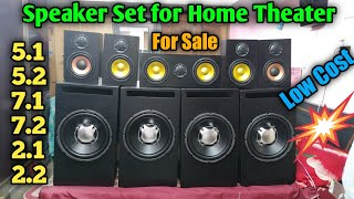 Speaker Set for Amplifier & A.V receiver | Best Quality in Low Cost for sale YouTube Videos