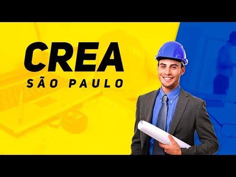 Concurso CREA-SP: Análise do Edital 2017   Ao vivo