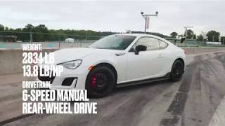 homepage tile video photo for Subaru BRZ tS at Lightning Lap 2018