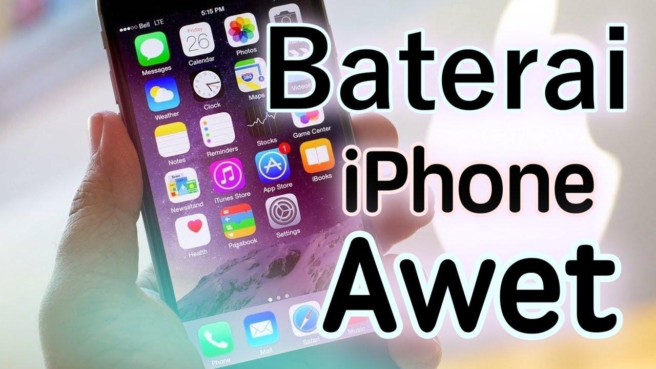 1 Tips Ampuh Merawat Baterai iPhone Agar Awet Tahan Lama