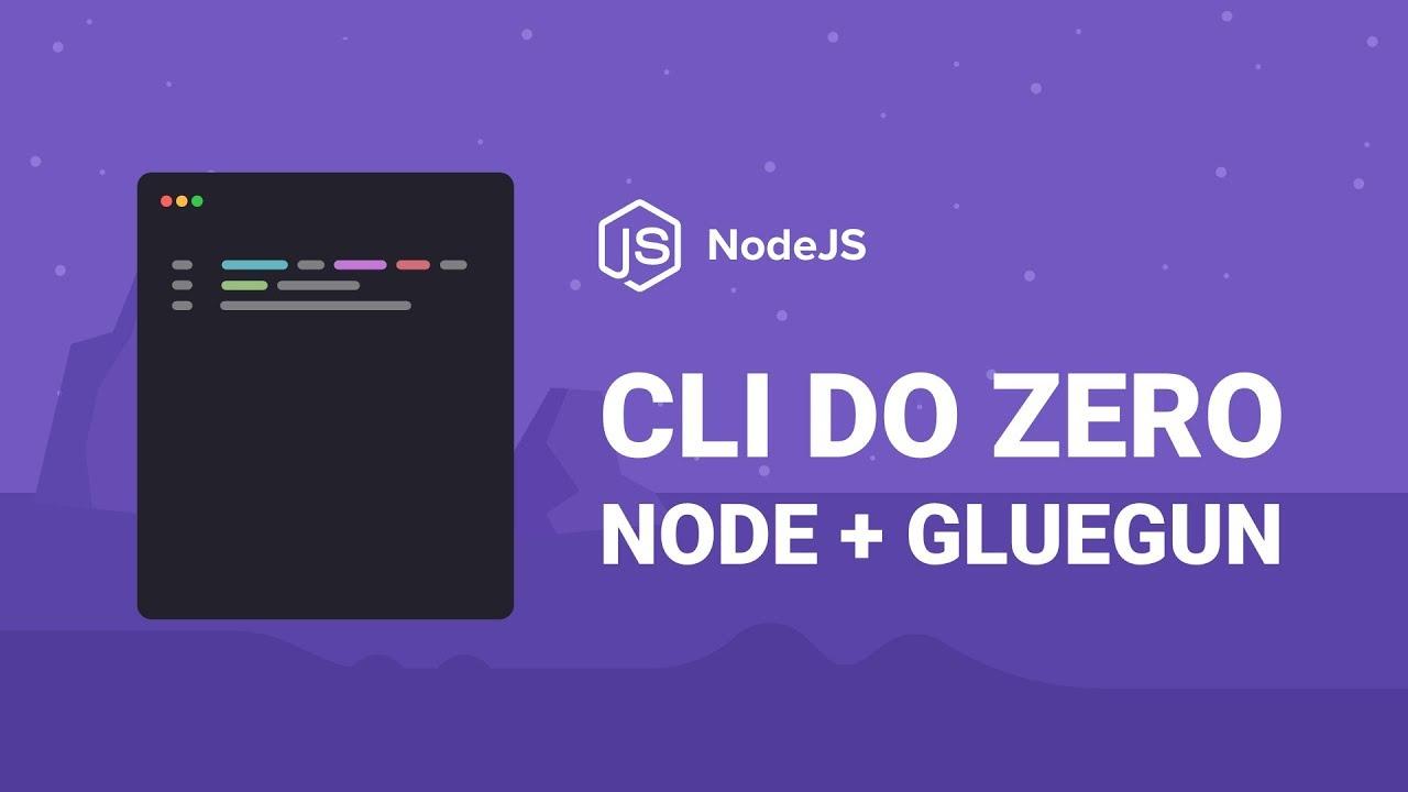 Criando uma CLI com NodeJS e Gluegun | Diego Fernandes