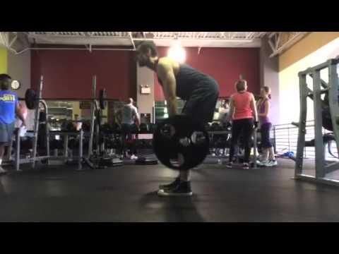 135lbs SLDL Form Check 3/31/2014 - YouTube