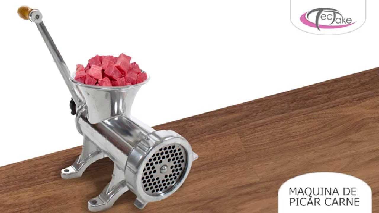 Maquina Picadora de Carne Manual Para Cortar Picar Moler Carne Molino Moledora
