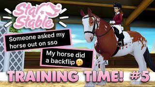 Star Stable Training Time! #5 - Reading Your Weird SSO Moments 😂