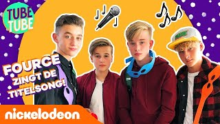 FOURCE zingt de titelsong van Rise Of The TMNT! 🐢 | TubeTube | Nickelodeon Nederlands