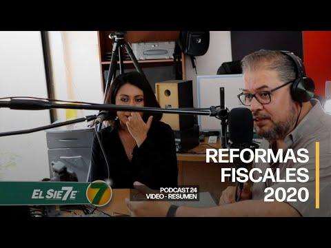 "Podcast ""Reformas Fiscales 2020"" [VIDEO - RESUMEN]"