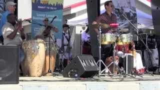 """CHAN CHAN"" ~ Two Speed Salsa con RUMBA CALZADA ~ Party at the Pier ~ Lonsdale Quay"