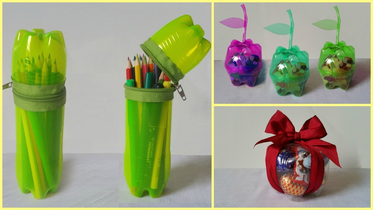 10 diy creative ways to reuse recycle plastic bottles for Diy recycled plastic bottles