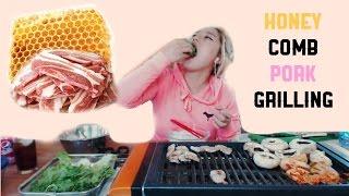What is HoneyComb Pork? | Mukbang