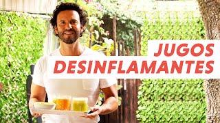 Jugos desinflamantes, mejoran tu digestión y desinflama la panza