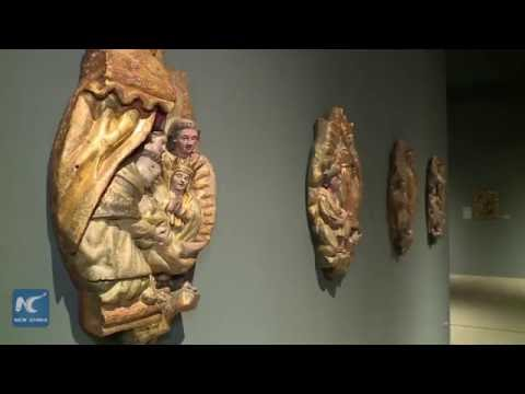 Virgin of Guadalupe exhibition held at Bowers Museum