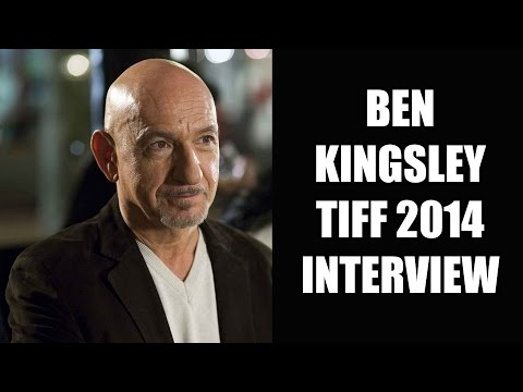 Ben Kingsley Interview - Learning To Drive & Jungle Book - TIFF 2014