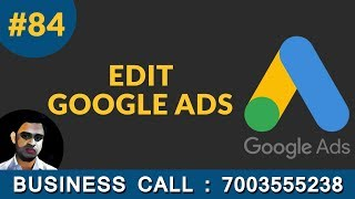 How to edit google ads campaig…