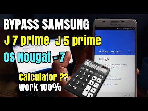 Bypass Frp Samsung J7 Prime, J5 Prime 7.0 Nougat Remove Verifikasi Google Account