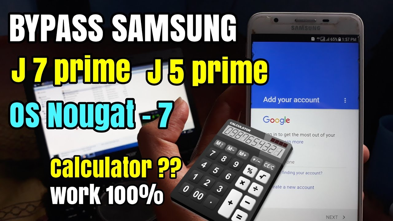 Bypass Frp Samsung J7 Prime J5 Prime 7 0 Nougat Remove Verifikasi