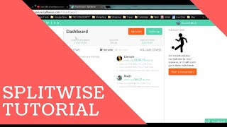 Living Together Peacefully - Splitwise Tutorial - How to Log Payments Under Bills