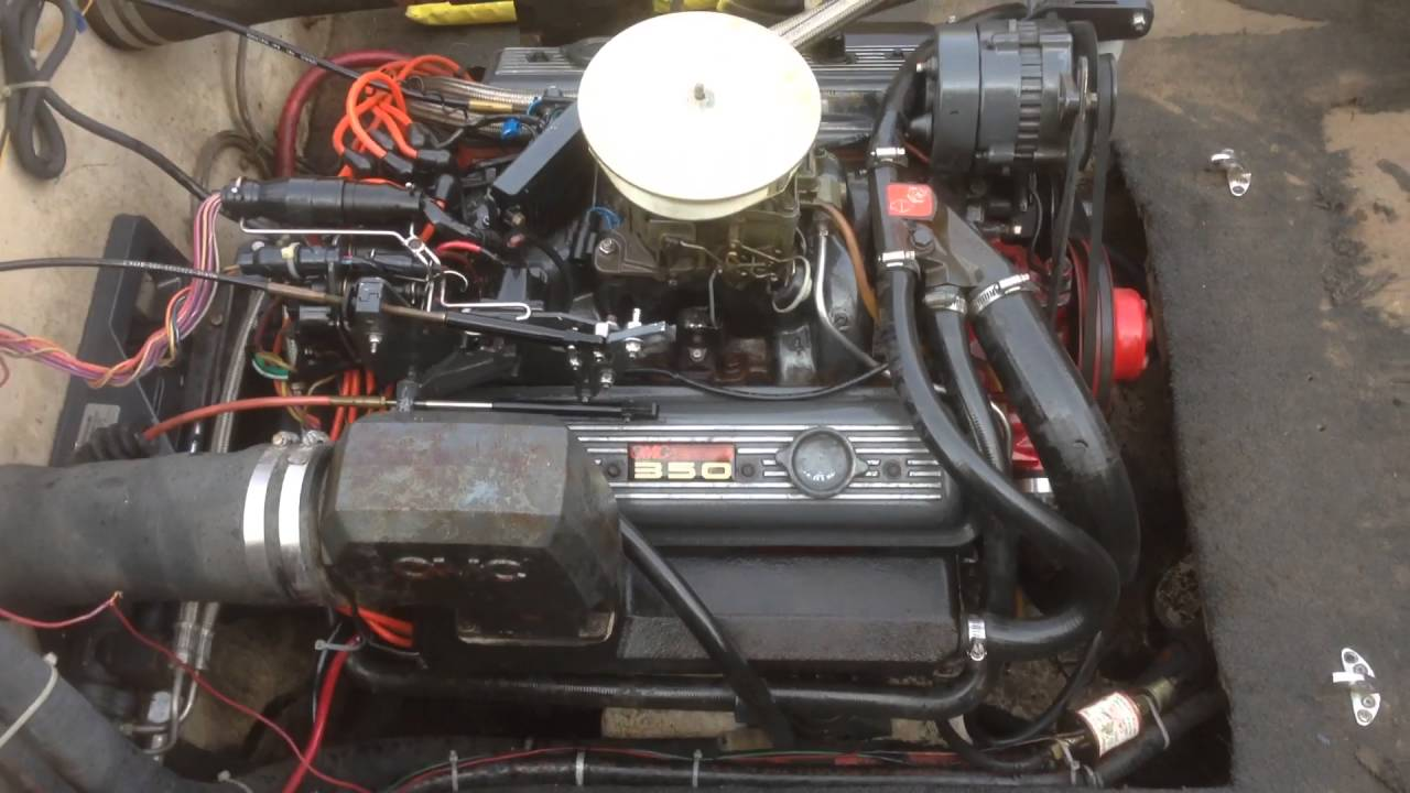All Chevy 305 chevy engine for sale : 305 5.0L OMC COBRA MARINE ENGINE 2 - YouTube
