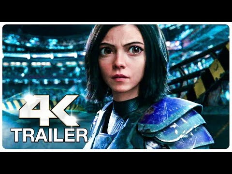 ALITA BATTLE ANGEL Final Trailer (4K ULTRA HD) NEW 2019