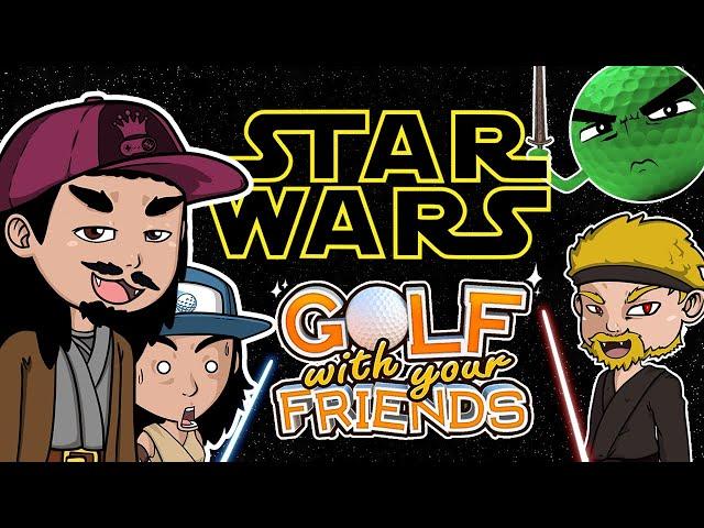 LA GUERRE DES BALLS (de golf) Golf With Your Friends + SAGA STAR WARS