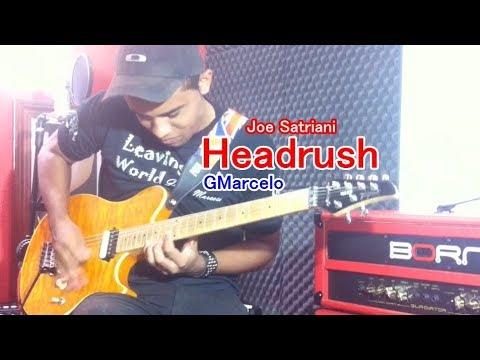 Joe Satriani -Headrush Cover GMarcelo( I HAVE BAKCING TRACK )