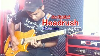 Joe Satriani -  Headrush Cover GMarcelo  ( I HAVE BAKCING TRACK )