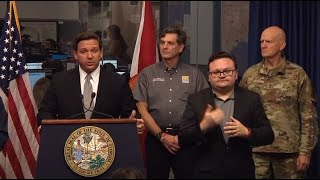 Fla. Gov. Ron DeSantis gives update on state's efforts to combat COVID-19 (3/18/2020)