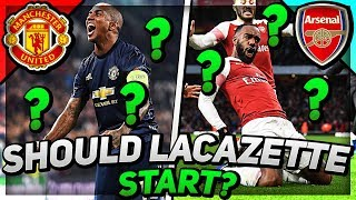 SHOULD LACAZETTE START AGAINST UNITED?!?! Man Utd vs Arsenal Preview | Young Gunz Podcast #5