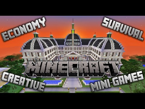 Eco-WorldCraft Minecraft Server / Economy | Survival | Creative | Mini-Games