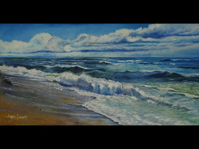 ART BLOG # 22 Painting a seascape