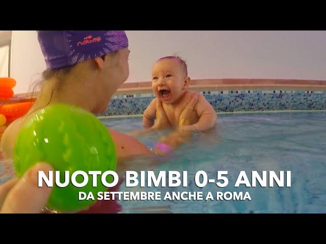 Acquaticità Roma: imparare a nuotare da piccoli (nuoto bimbi da 0 a 5 anni)